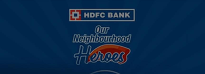 HDFC Neighbourhood Hero of Erode Mr.M.Dhayalan